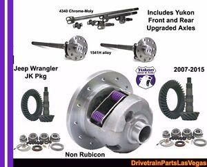 Detalhes sobre 4 56 Jeep Wrangler Jk 2007 2018 Dana 44 30 Kit De  Engrenagens Posi eixos yokon Pro Qualidade- mostrar título no original