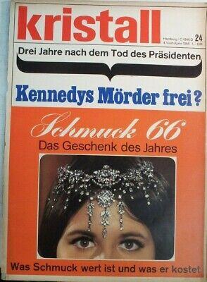 Clever Kristall 24 4.vierteljahr 1966 Kennedys Mörder Frei B-17470