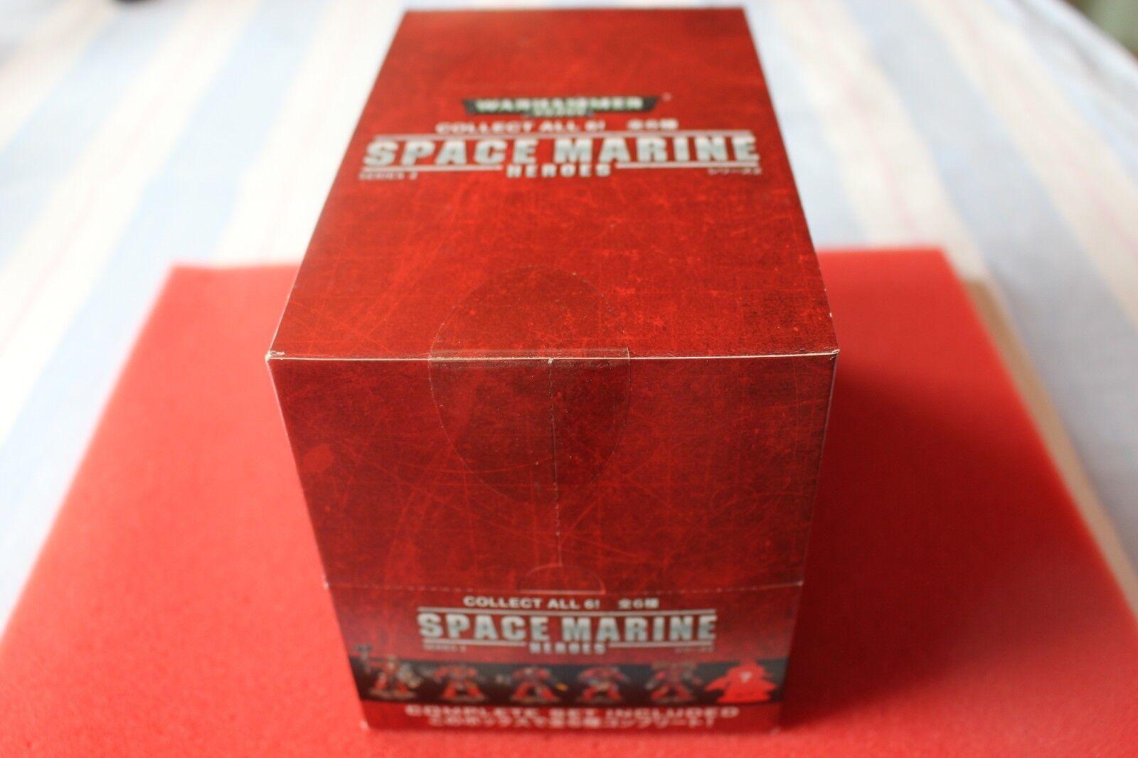 Space Marine Heroes Japon série exclusive 2  EntièreHommest neuf dans sa boîte Games Workshop NEUF marines Épuisé  service attentionné