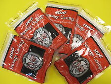 Natural hog pork casings for 125 Lbs of fresh sausage. Smoked Links Kielbasa etc