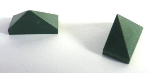 endstein 1x2//45 ° NEUF! 2 x LEGO vert réfractaire First Emerald-couleur
