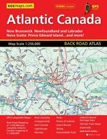 Atlantic Canada Back Road Atlas By Canadian Cartographics, (perfect Paperback) on sale