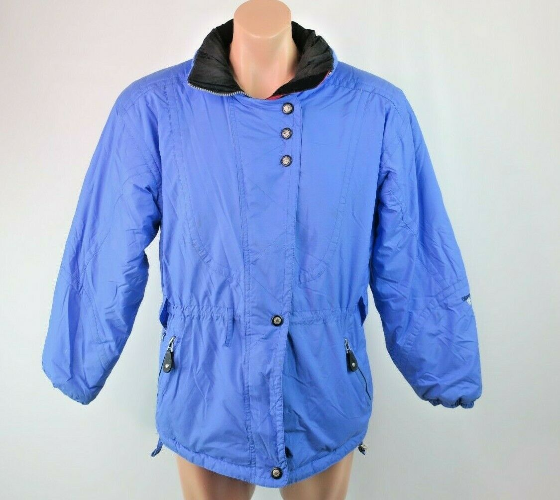 Obermeyer Jenna VTG 90s puffer coat ski jacket periwinkle snow bunny hiking 12