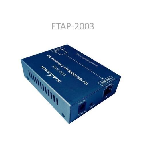 DUALCOMM ETAP-2003 USB Powered Gigabit Network TAP
