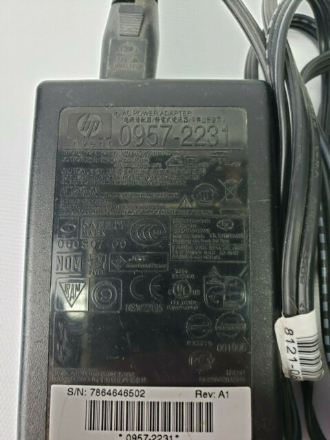 HP 0957-2231 AC power adapter used tested works