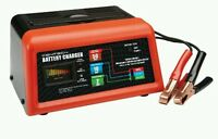 10/2/50 Amp 12 Volt Battery Charger & Engine Starter Car, Lawn Mower, Cycle