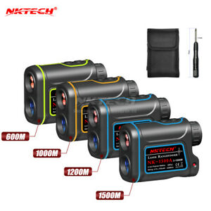 NKTECH-Rangefinder-Laser-Distance-Meter-Hunting-Golf-4IN1-Telescope-Speed-Height