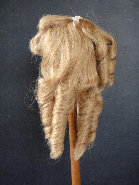 Perücke T6 (27.5cm) 100% Haare Natürlich für Doll Antik oder Modern