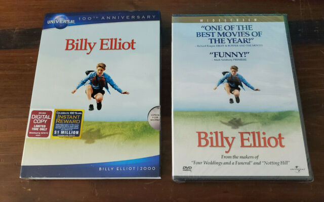 NEW Billy Elliot (2001) DVD Authentic US Universal Release