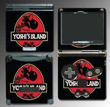 Yoshi's Island Park Jurassic World Game Decal Skin Game Boy Advance GBA SP