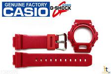 CASIO G-Shock DW-6900MF-4V Original Red Metallic (Glossy) BAND & BEZEL Combo