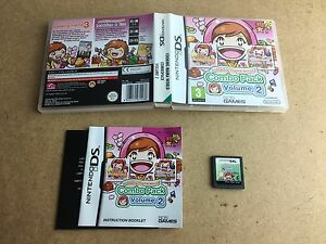 Cooking-Mama-World-Combo-Pack-Volume-2-Nintendo-DS-TESTED-UK-PAL