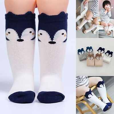 Cute Baby Toddler Girls Kid Soft Leggings Warmer Leg Warmers Knee Long Socks