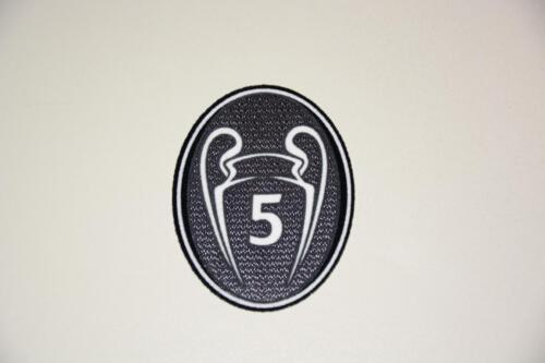 Fussball Patch Champions League Trophy 5 Bayern München Liverpool Barcelona