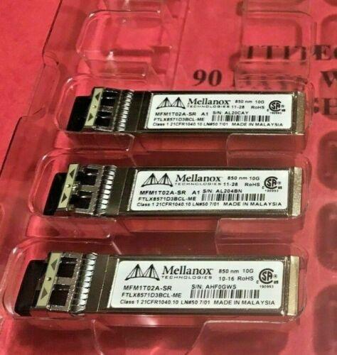 Genuine Mellanox MFM1T02A-SR MFM1T02ASR FTLX8571D3BCL-ME SFP+SR w//90 days WRTY