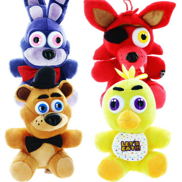 """Five Nights At Freddy's 6.5"""" Plush Set of 4"""