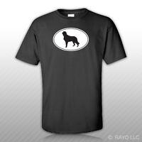 Irish Setter Euro Oval T-shirt Tee Shirt Free Sticker Dog Canine Pet