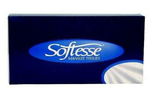 Softesse Man taille boîte de tissus plus doux original serviettes visage Maison Hotel Voiture