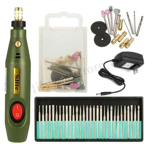 Electric Engraving Pen Engraver Wood Carving Polishing Tools Set DIY Crafts