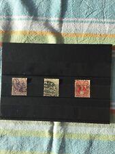Schweiz, Briefmarken Pro Juventute 1917. Mi 133-135. Kompl. Serie. Trachten