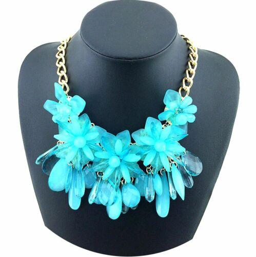 Kette Damen Party Outfit Choker Statementkette Halskette Partykette Necklace G51