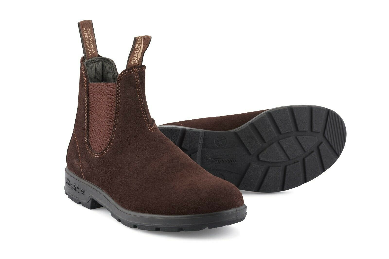 New bluendstone 1458 Brown Suede Unisex Leather Chelsea Boots ALL SIZES