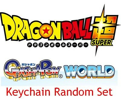 2016 Bandai Gashapon Scene Selection ~ Set of 5 ~ Dragon Ball SUPER figure