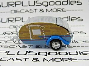 Greenlight-1-64-LOOSE-Collectible-Diecast-Classic-Teardrop-Camper-Travel-Trailer
