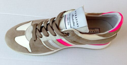 Shoes 3 Sneakers Pelle Serafini Donna 2782 Women Manhattan Scarpe O8qEEwTI