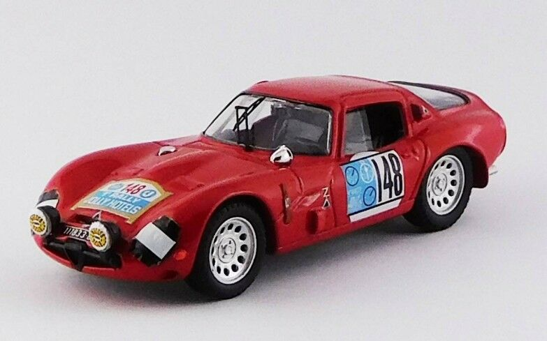 Best MODEL 9705 - Alfa Romeo TZ2 TZ2 TZ2  148 Pergusa Jolly Calienteel rally - 1965   1 43 4c6ee8