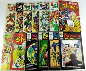 BD-Comic-Strange-Special-Origines-Lot-de-13-numeros-1981-a-1995-Lug-Semic