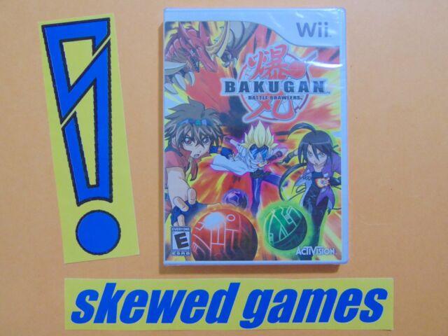 Bakugan Battle Brawlers - New Sealed - Wii Nintendo