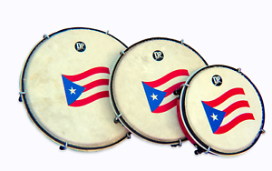 Plenera Set, Set Of 3 Pleneras with Carry Bag-DP (Panderos de Plena) PVC