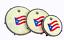 thumbnail 1 - Plenera Set, Set Of 3 Pleneras with Carry Bag-DP (Panderos de Plena) PVC