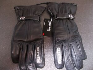Gerbing/'s Heated Men/'s T5 Hybrid Gloves 12V DC Powered Black Leather Size XS