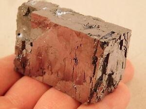 A Big Super Shiny 100% Natural GALENA Crystal CUBE Found in Missouri! 364gr