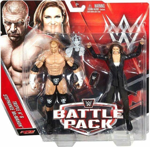 WWE battle pack series 42-triple h /& stephanie mcmahon action figures-DJR98