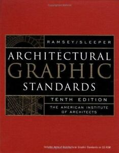Architectural graphic standards by charles george ramsey and harold 25000 fandeluxe Images