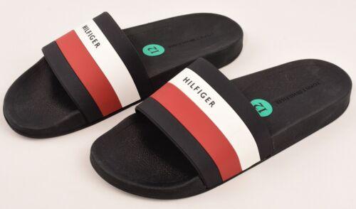 Navy Blue Sandals UK 8 9 11 TOMMY HILFIGER Men/'s EARTHY-M Beach Pool Slides