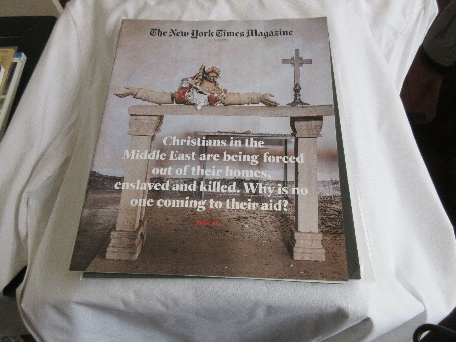 Middle East Christian ,The New York Times Magazine , J
