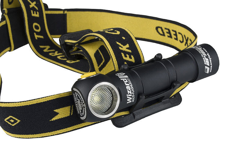 Armytek Wizard Pro Rechargeable v3 XHP50 USB Magnet Rechargeable Pro Headlamp w/18650 included 190538
