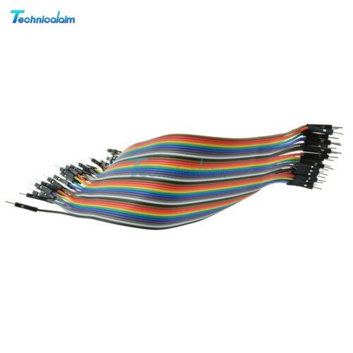 Multi Dupont Male to Female 10//20CM Breadboard Jumper Wire Raspberry Pi Arduino