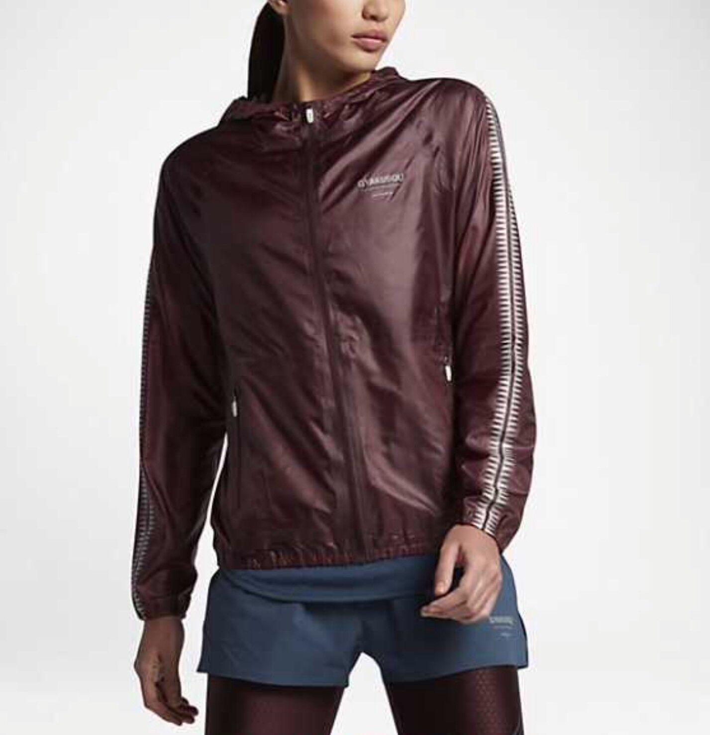 Mujer Chaqueta Para Correr Nike X NIKELAB GYAKUSOU,   842801-210, XS,