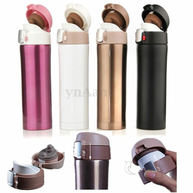 500ML Stainless Steel Travel Mug Coffee Tea Vacuum insulated Thermal Cup Bottle