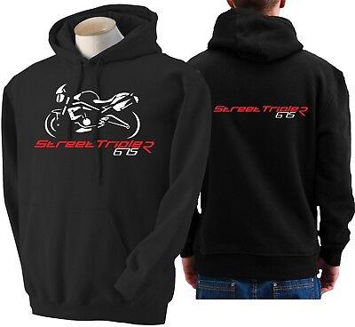 Hoodie for bike TRIUMPH STREET TRIPLE 675 sweatshirt hoody Sudadera moto