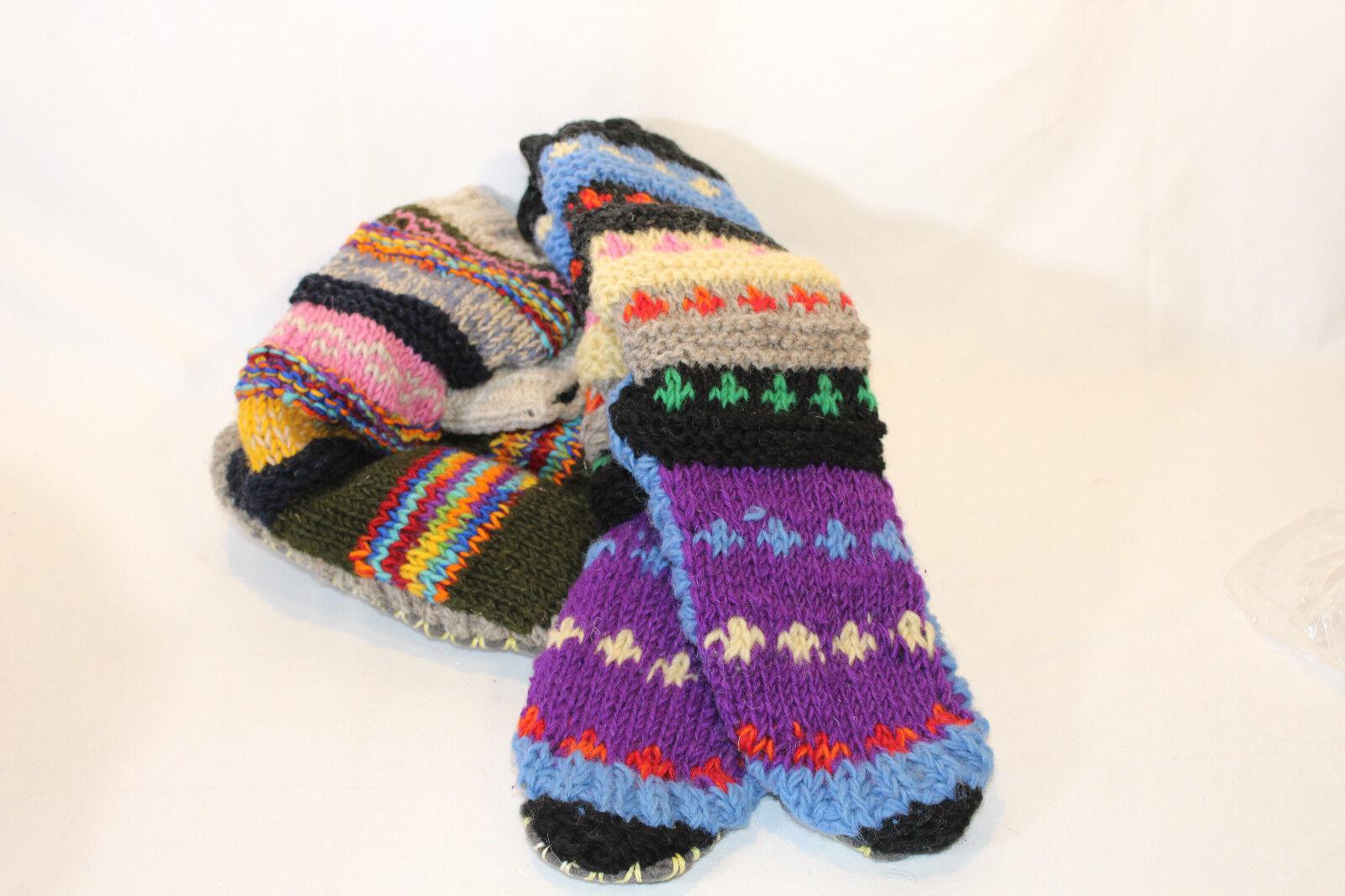 TIBETAN SLIPPER SOCKS PICK SIZE & COLOR NEW
