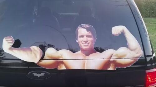 Arnold Schwarzenegger LIMPIAPARABRISAS SUV Coche Camión Arnie Flex ladbible unilad