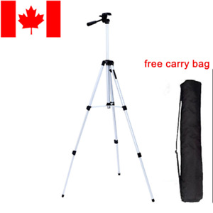Universal Aluminum Portable Tripod Stand Camera Canon Nikon Olympus + Carry Bag