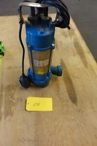 1HP Sewage Pump 1860GPH 110V Stainless Steel Submersible Pump Sump 30FT LIFT U30