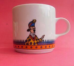 MUG-Tintin-LE-TEMPLE-DU-SOLEIL-Tournesol-Moulinsart-1996-Porcelaine